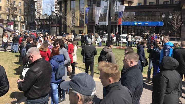 В Воронеже эвакуировали два бизнес-центра и отель