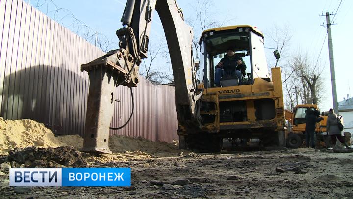 В селе на окраине Воронежа началась масштабная «война» с коммунальными проблемами