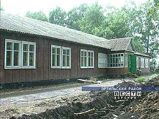 К новому учебному году Соколовская средняя школа была построена в рекордные сроки
