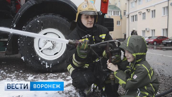 Воронежские дети осуществили свои мечты о будущих профессиях