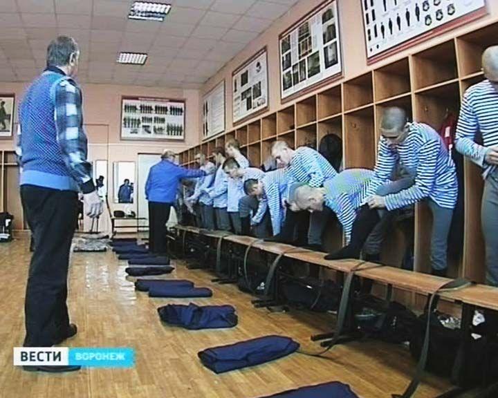 В Воронеже десантников теперь готовят до службы в армии