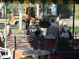 Кафе в парке Патриотов было атаковано бульдозером