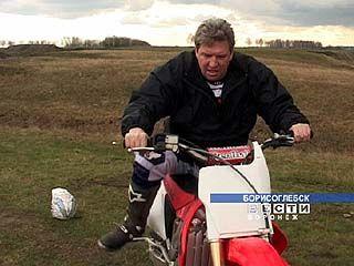 Какой борисоглебский мотоциклист не любит быстрой езды!
