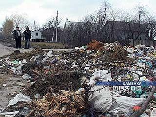 Каменский район завалили мусором