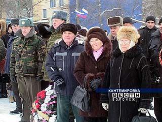 Кантемировский район отмечает 67 годовщину освобождения от оккупации
