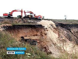 Карьер в селе Богданово - большая стройка или незаконная добыча песка