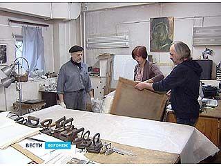 Картины из Воронежа отправляются в Третьяковскую галерею