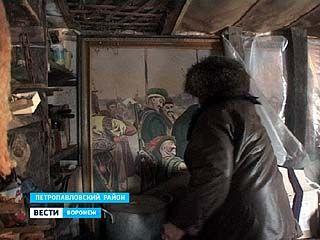 Картины петропавловского живописца Степана Бибикова под угрозой гибели