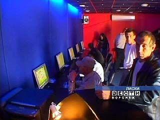 Казино в Воронежской области скрывают под видом Интернет-кафе