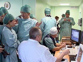 Китайские врачи посетили Воронежскую областную клиническую больницу