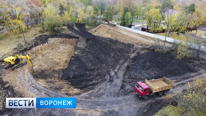 У детской больницы в Воронеже началось строительство многоэтажки