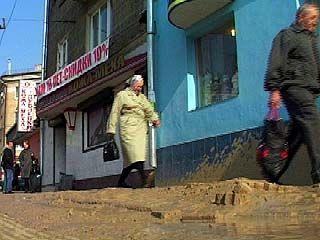 Коммунальная авария в центре Воронежа