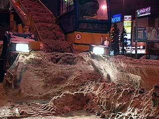 Коммунальщики борются со снегом, экологи - с коммунальщиками