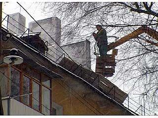 Коммунальщики обещают закончить проверку дымоходов к 20 февраля