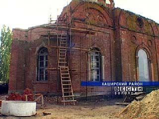 """Компания """"Агросвет"""" проводит восстановительные работы в церкви"""