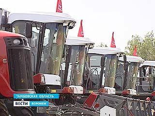 Компания Ростсельмаш проводит День поля в Тамбовской области