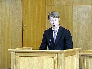 Константин Еременко наделён полномочиями сенатора от Областной Думы