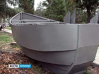 Корабль станет новым символом Левобережного района Воронежа