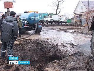 Крупная авария на водопроводе оставила без воды тысячи жителей Калачеевского района