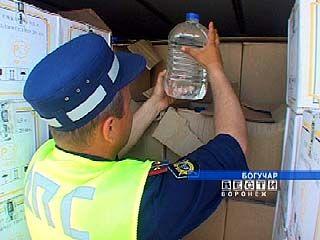 Крупная партия фальшивого алкоголя задержана в Богучаре