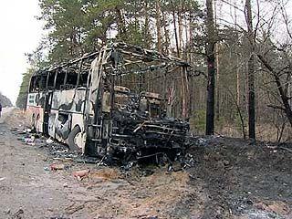 """Крупное ДТП на трассе """"Дон"""": рейсовый автобус столкнулся с иномаркой"""