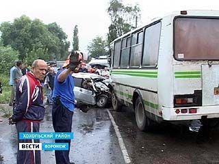 Крупное ДТП произошло в селе Гремячье: погибли три человека