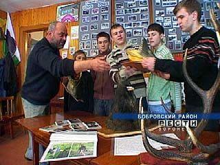 Кружку охотников четвертой бобровской школы - 20 лет