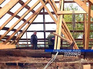 Крыша Троицкого храма в Подгорном рухнула после дождя