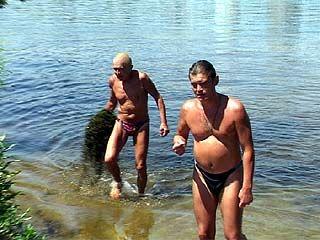 Купаться в водохранилище можно только на пляже санатория им. Горького