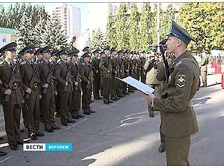 Курсанты военно-воздушной Академии в Воронеже приняли присягу