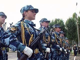 Курсанты Воронежского института ФСИН присягнули на верность Отечеству