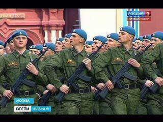 Курсанты ВВАИУ вернулись с парада Победы в Москве