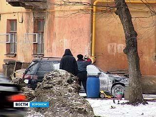 Кустарные автомойки Воронежа не пугают запреты