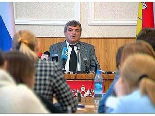Леонид Яновский встретился с журналистами