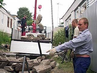Лестницу из могильных плит на Бархатном бугре демонтировали