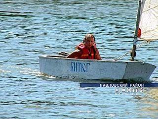 Летняя плавательная практика начинается в Павловске