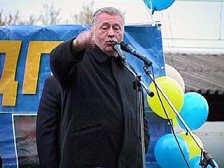 Лидер партии ЛДПР встретился с воронежскими избирателями
