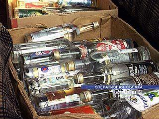 Ликвидирован подпольный цех по изготовлению алкогольной продукции