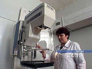 Лискинская больница получила мамограф