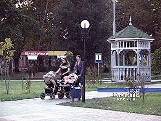 """Лискинский парк удостоен диплома конкурса """"Хрустальное колесо"""""""