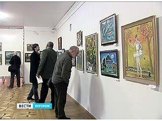 Лучшие работы Острогожского академического пленэра - на одной выставке