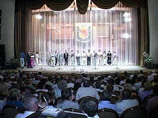 Лучших строителей Воронежа поздравили досрочно