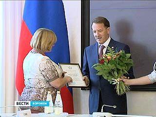Лучших строителей Воронежского региона наградили в правительстве области