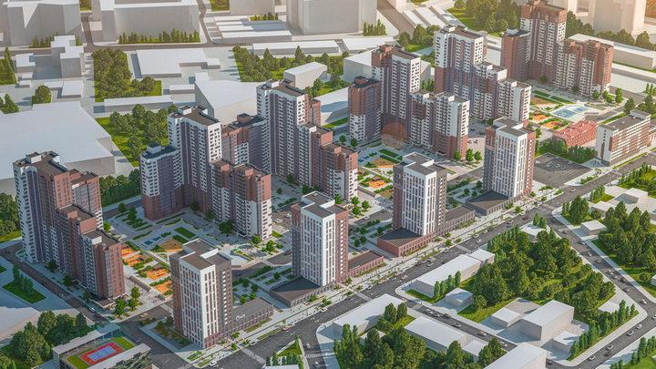 Мэрия утвердила проект застройки квартала в Ленинском районе Воронежа