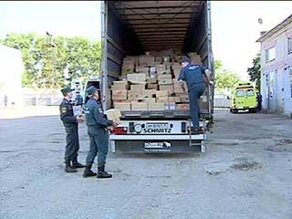 Машины с гуманитарной помощью отправились из Воронежа в Крым, в Джанкойский район