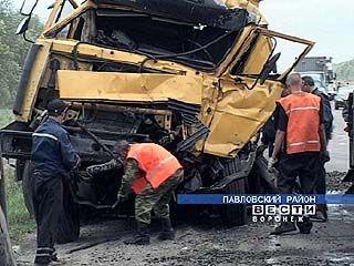 """Маз"" столкнулся с турецкой фурой"