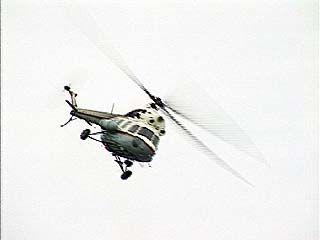 МЧС проводит воздушную разведку и наземное патрулирование