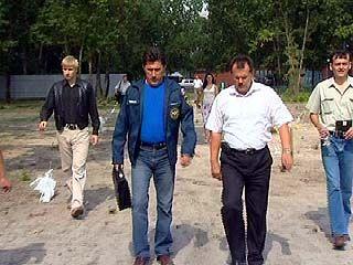 Мэр Борис Скрынников посетил объект на Вогресовской дамбе
