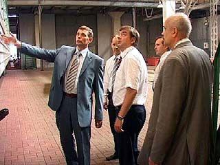 Мэр города побывал на Воронежском вагоноремонтном заводе