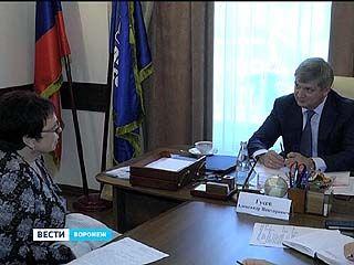 Мэр Воронежа Александр Гусев провёл приём граждан